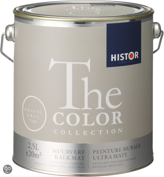 Yippee Blue Histor Bol.com | Histor The Color Collection Muurverf - 2,5 Liter