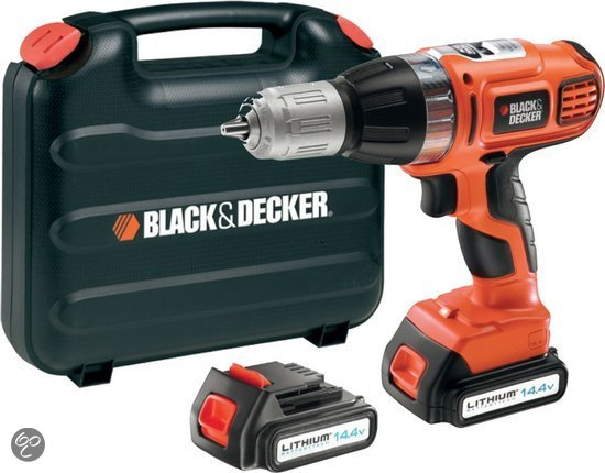 Black En Decker Klopboormachine Black+decker - Asl148kb - Accu Klopboormachine - 14.4v 1,3
