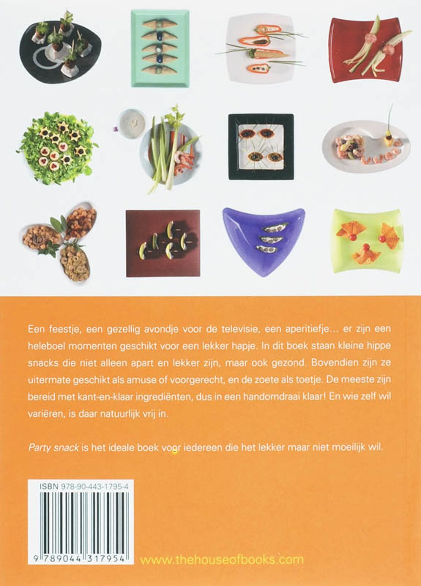 Kleine Party Snacks Bol Party Snack Geny Soeteman 9789044317954 Boeken