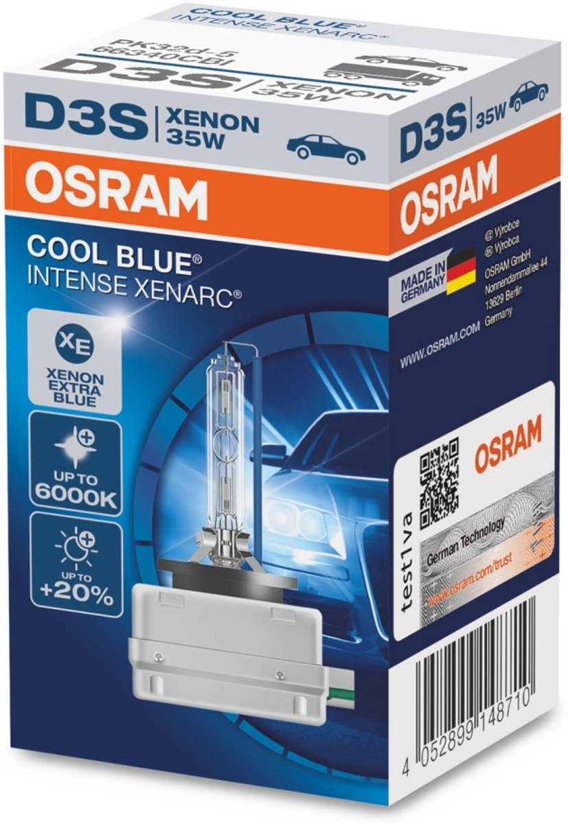 Led Verlichting Coolblue Osram D3s Coolblue Intense Duobox 2 Lampen