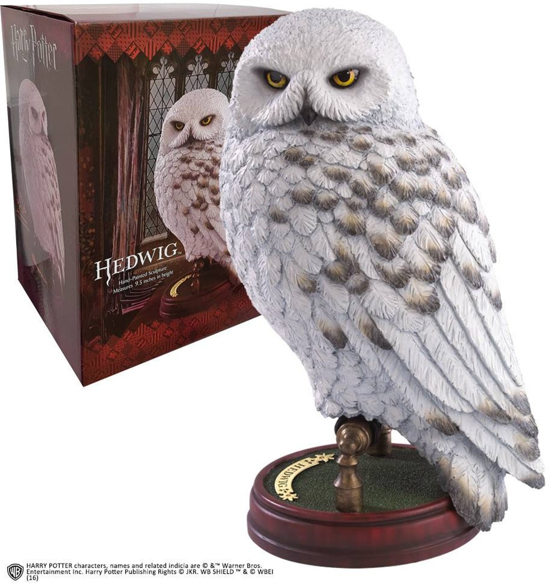 Peluche Hedwige Sculpture Hedwige Harry Potter