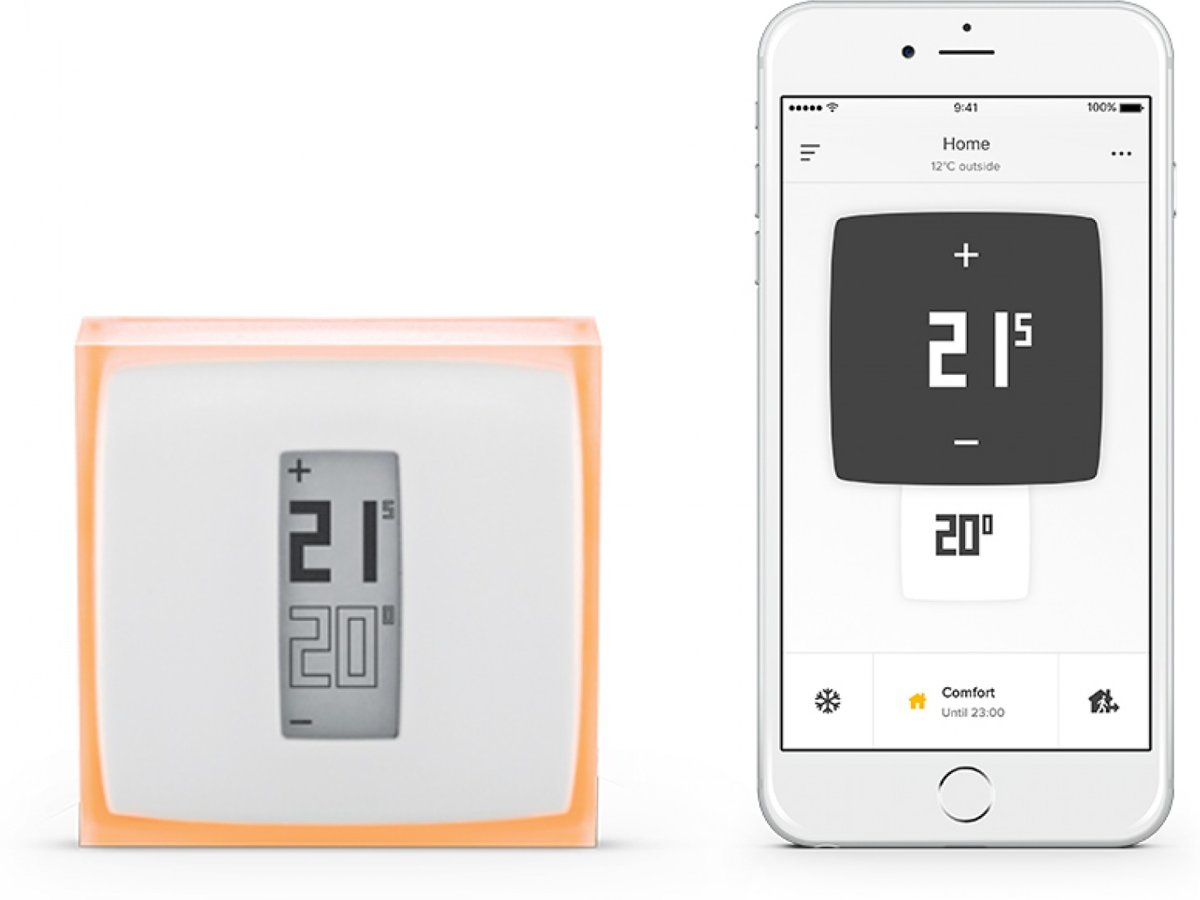 Smart Home Wandthermostat Netatmo Intelligente Thermostaat