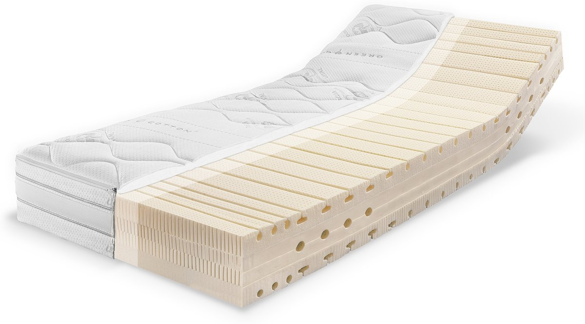 Talalay Matras Bol Talalay Latex Matras 120x200 H2 3 Tot 100 Kilogram