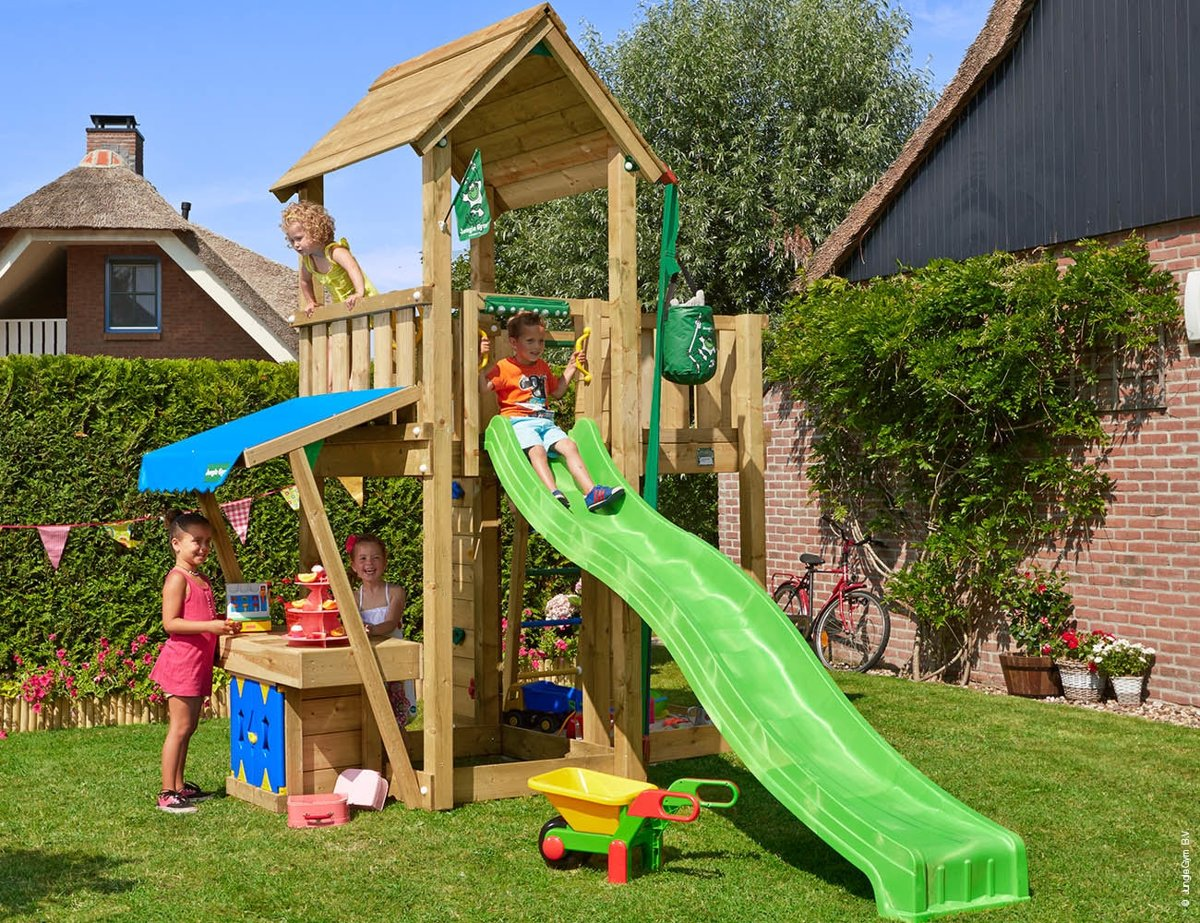 Tuin Speeltoestel Jungle Gym Mansion Mini Market Speeltoestel Tuin Met