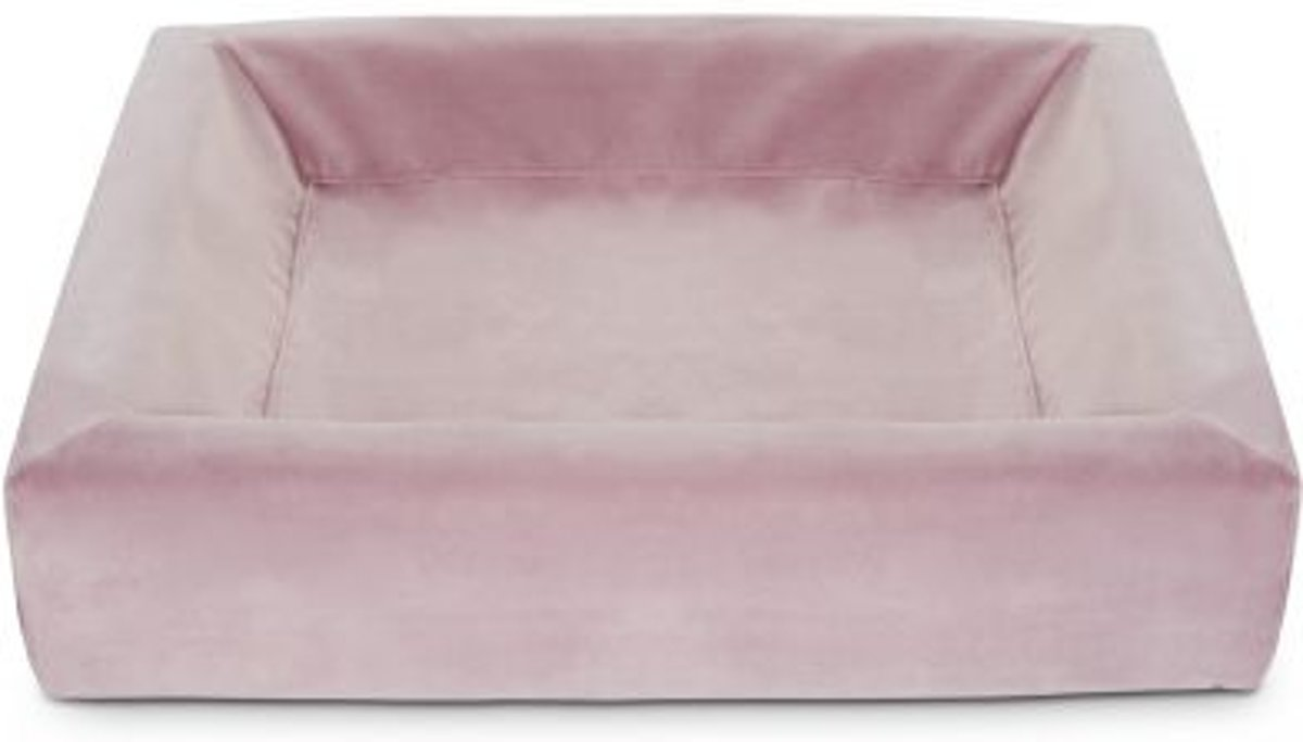 Bol Com Hondenmand Bia Royal Fluweel Hoes Hondenmand 2 60x50x12cm Roze