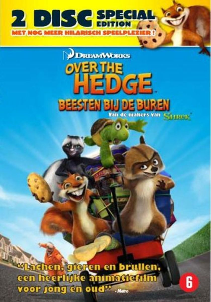 Lage Heg Bol Over The Hedge Beesten Bij De Buren 2dvd Special