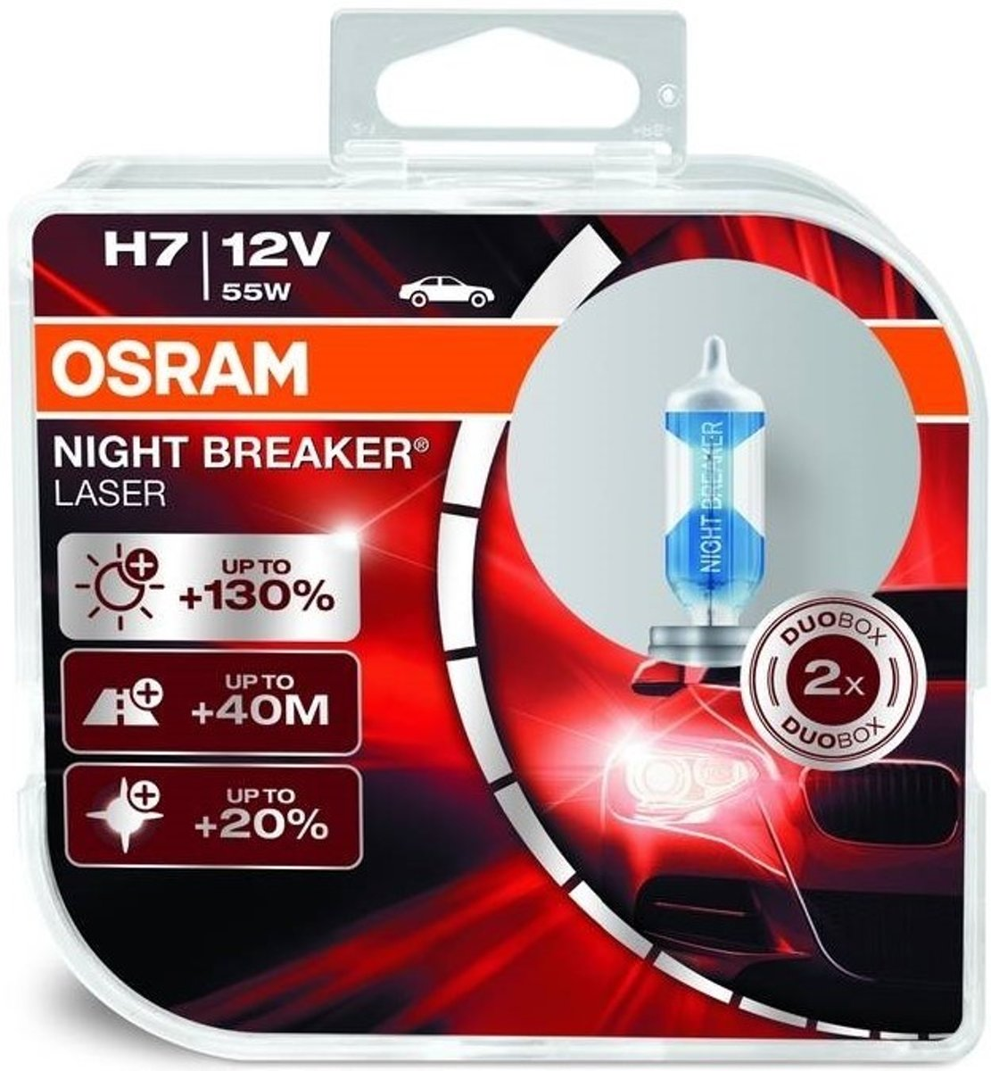 Beste H7 Lampen Osram Night Breaker Laser H7 12v Set