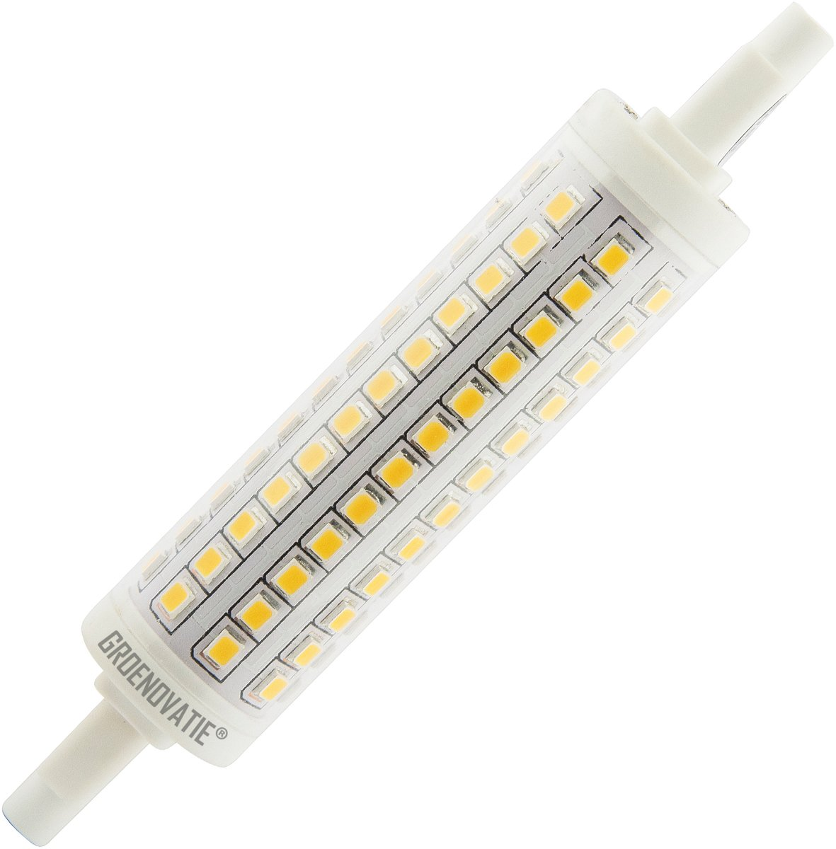 R7s Led Dimbaar Philips Groenovatie Led Lamp R7s Fitting 10w 22x118 Mm 360º Dimbaar Warm Wit