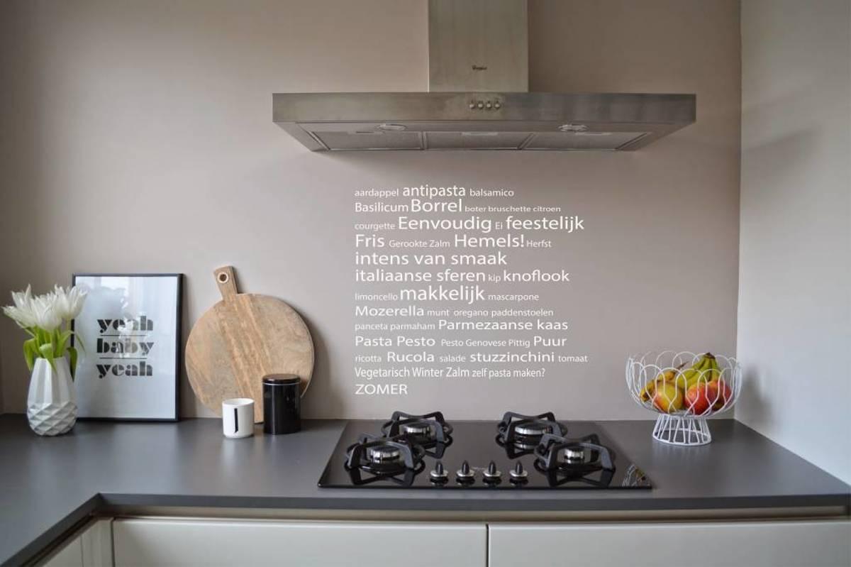 Originele Muurteksten Keuken : Muurteksten keuken japanse tekens