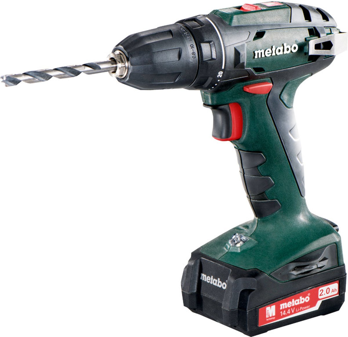 Hitachi Accuboormachine 14.4 Volt Metabo Bs 14 4 Accuboormachine 14 4 Volt Incl 2 Li Ion Accu Packs 2 Ah En Lader In Koffer