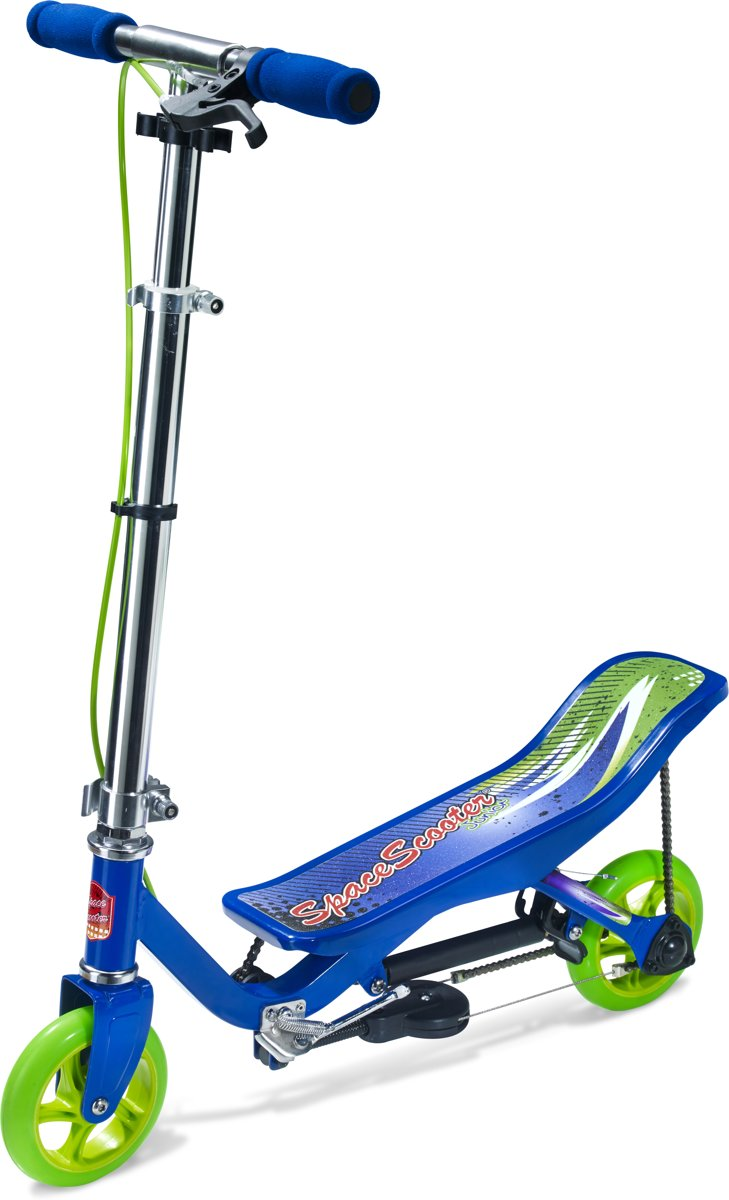 Buitenspeelgoed Schoolplein Space Scooter Junior Blauw Step
