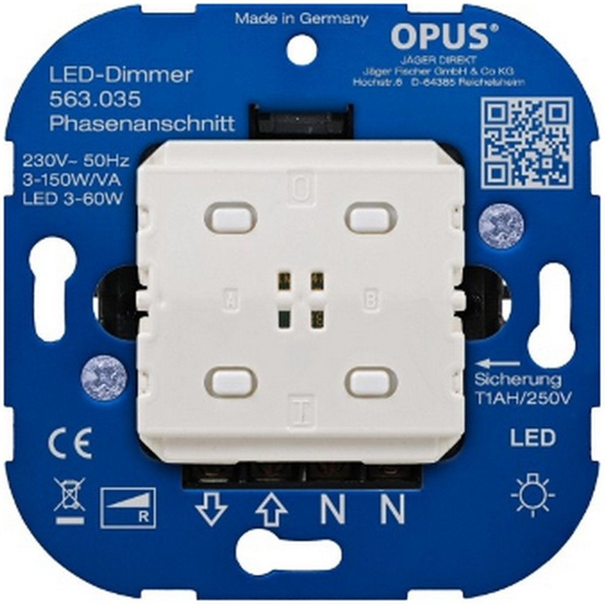 Led Dimmer Draadloos Led Bridge Dimmer Fase Aansnijding 3 60w Va Smart