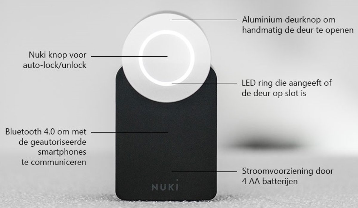 Slot In Deur Maken Nuki Smart Lock 1