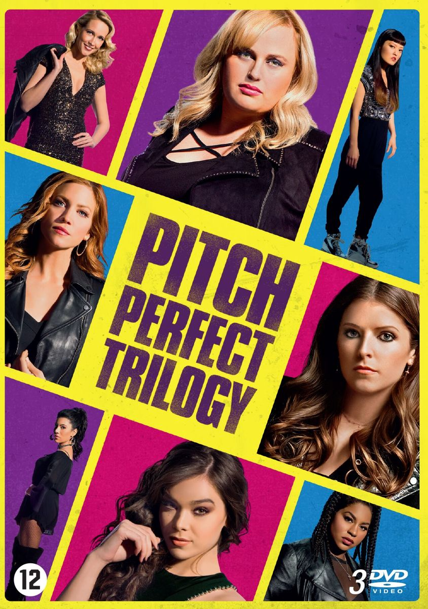 Gratis Tuin Makeover Bol Pitch Perfect 1 T M 3 Dvd Anna Kendrick Dvd S