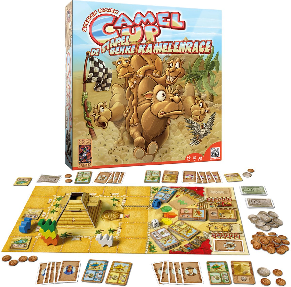 999 Games Camel Up Bordspel