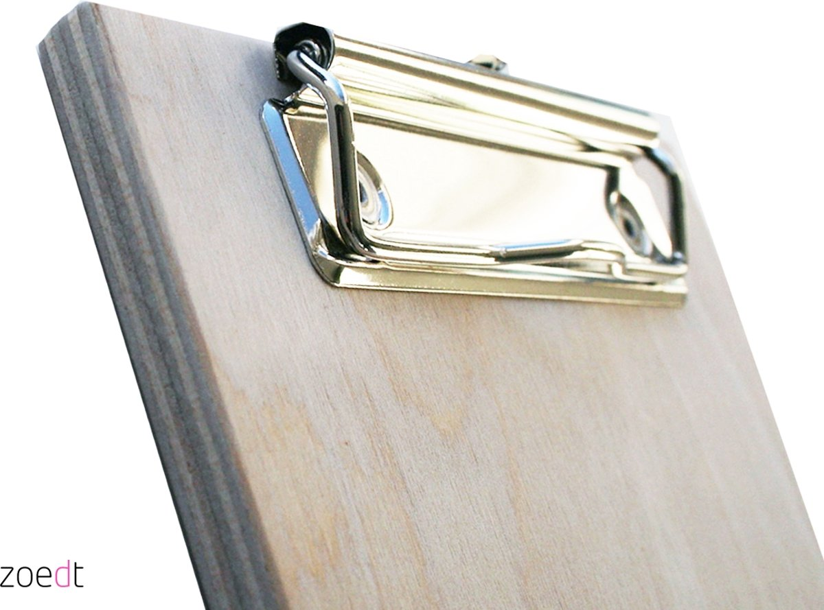 Gamma Steenschot Perfect Affordable Houten Clipboard With Houten Clipboard