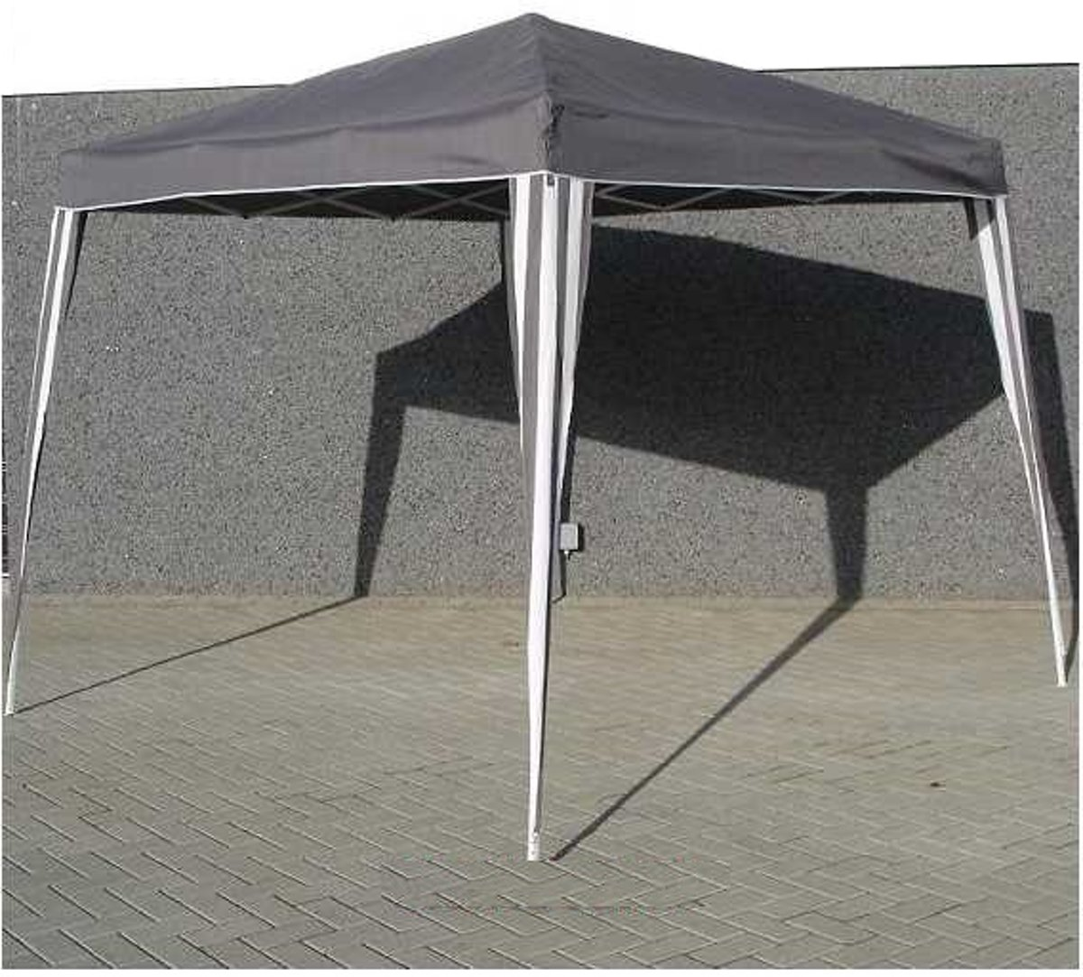 Partytent 3x3 Praxis Partytent Easy Up Grijs Antraciet 3 X 3 M