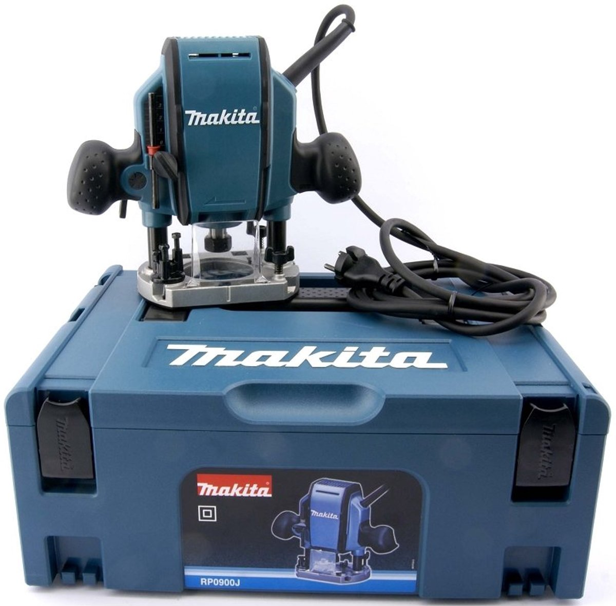 Makita Freesmachine Makita Bovenfrees Rp0900j 900 W In Mbox