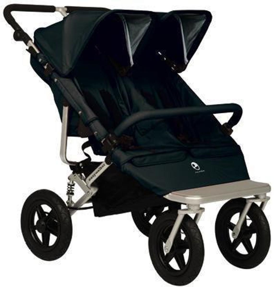 Kinderwagen Easywalker Duo Bol Easywalker Duo Base Plus Zwart