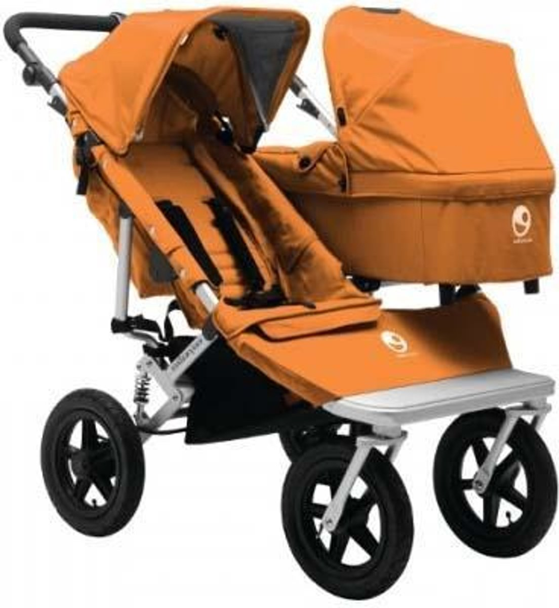 Kinderwagen Easywalker Duo Bol Easywalker Duo Base Plus Oranje