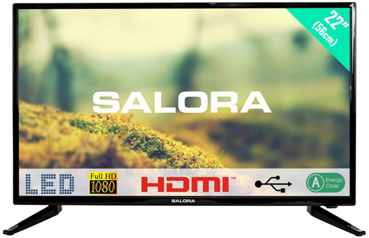 Kijkhoek Tv Slaapkamer Salora 22led1500 Full Hd Tv