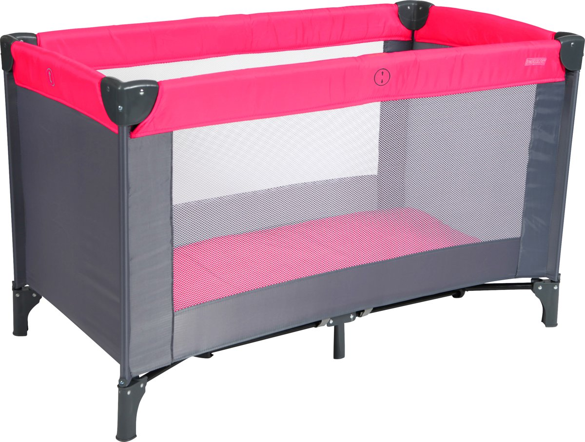 Afmeting Campingbedje Top Mark Campingbed In Tas Roze