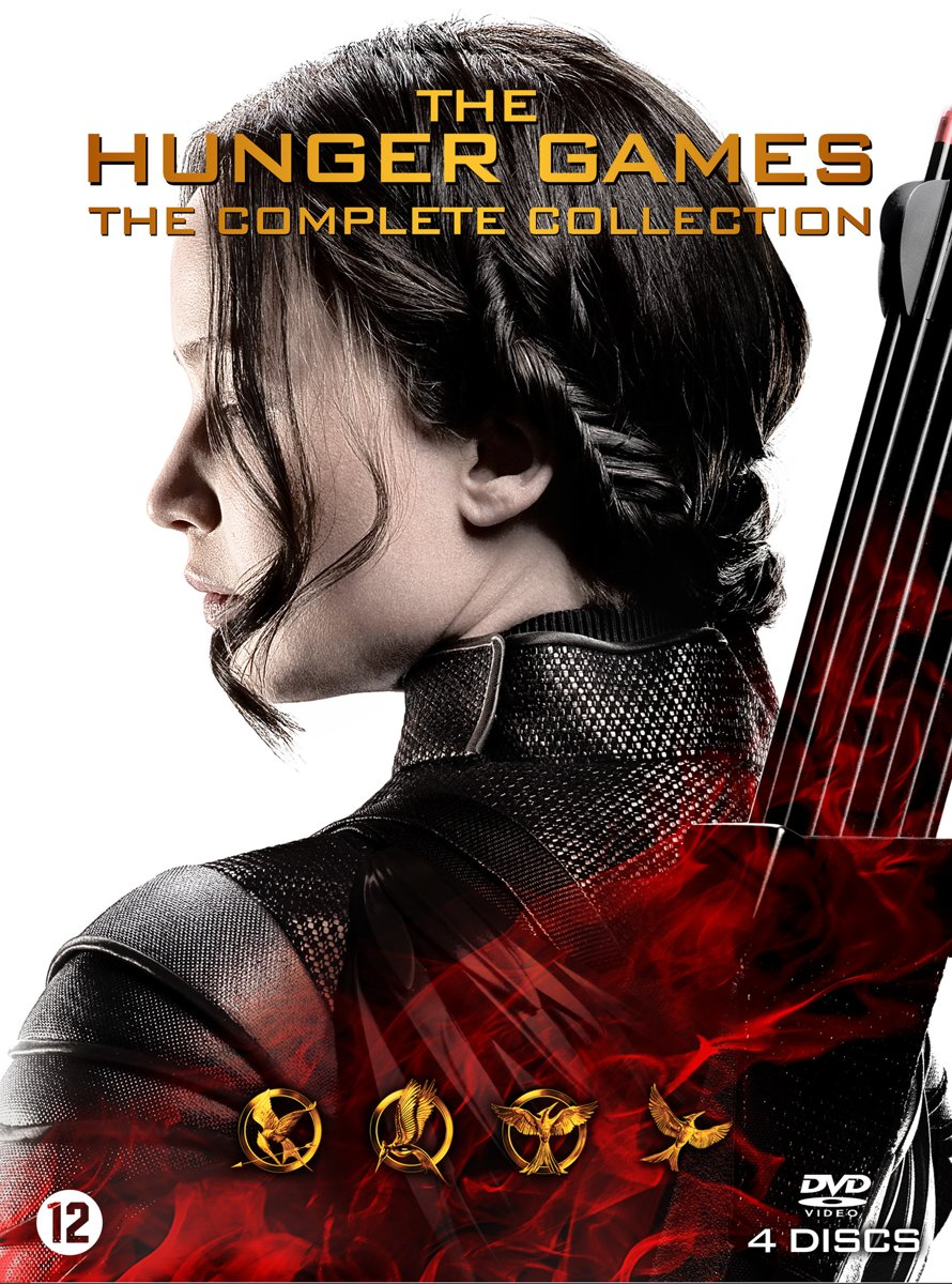 Bios Veldhoven Bol The Hunger Games The Complete Collection Dvd Philip