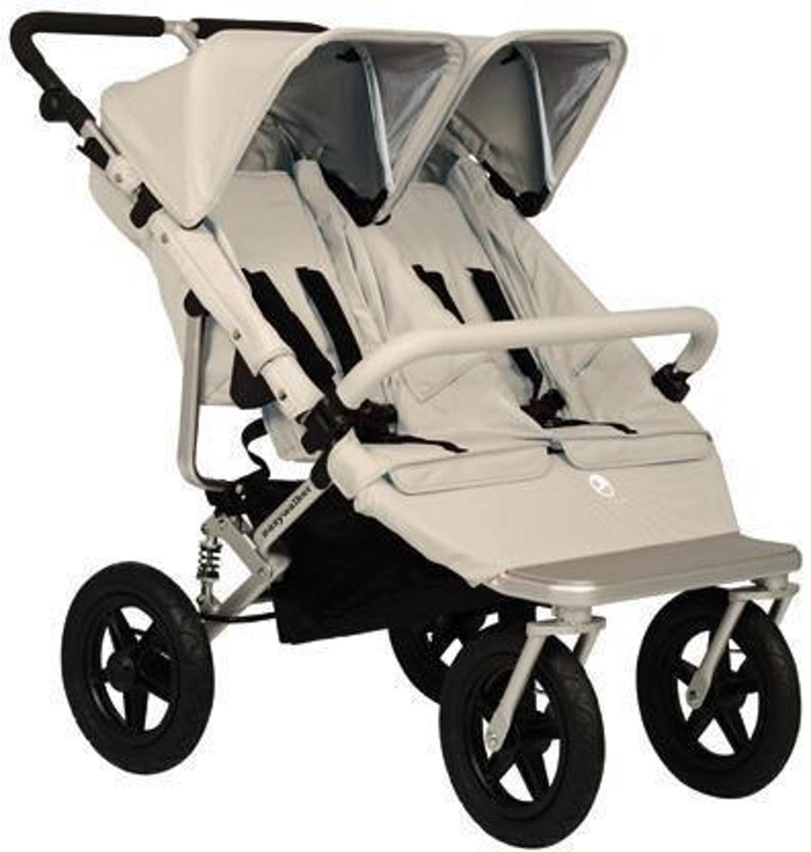 Kinderwagen Easywalker Duo Bol Easywalker Duo Base Plus Zandbruin