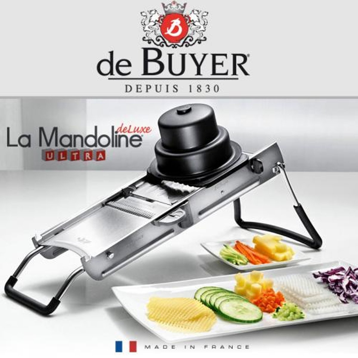 Tweedehands Mandoline Keuken De Buyer Mandoline Ultra