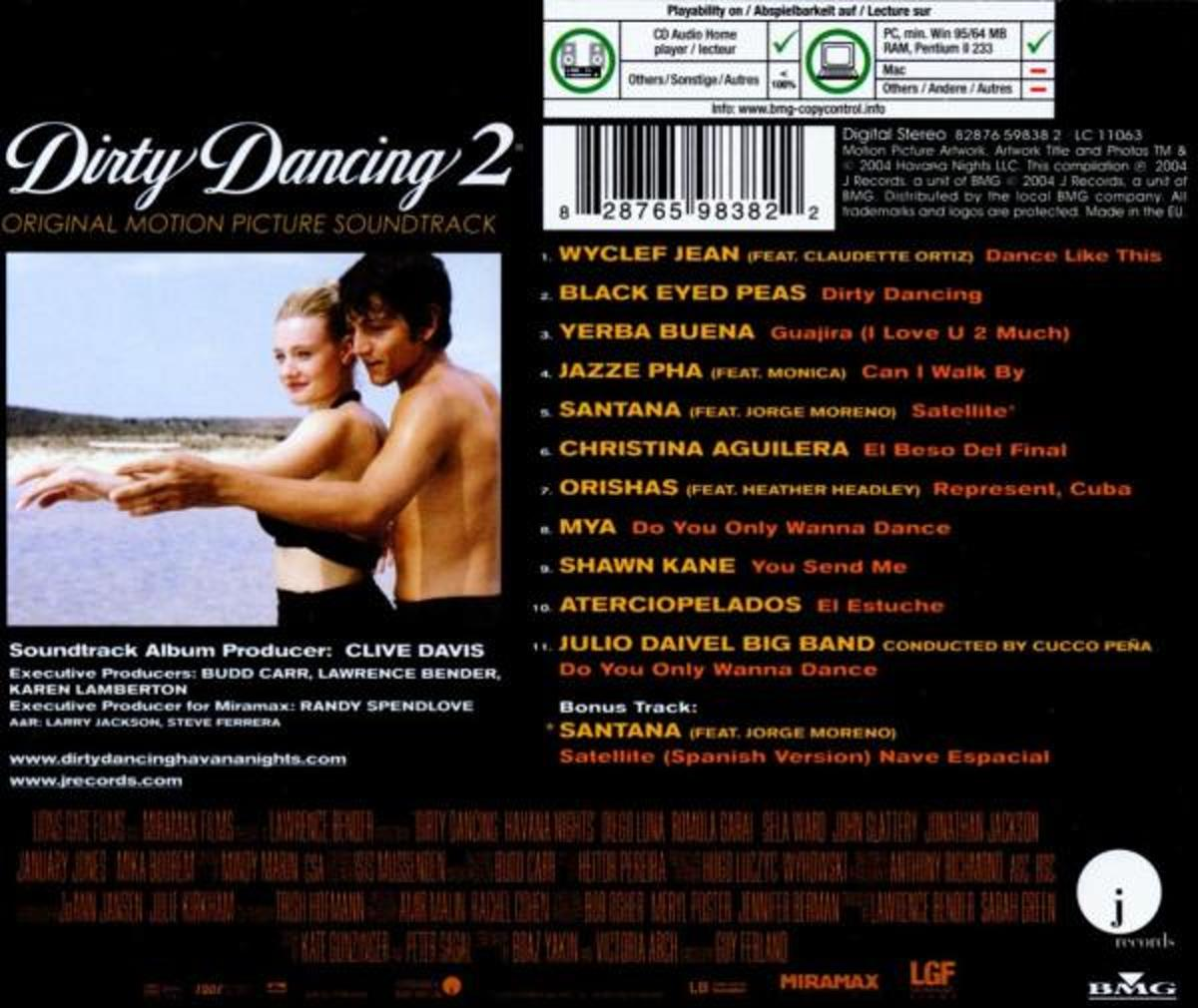 Dirty Dancing Muziek Bol Dirty Dancing Havana Nights Original Soundtrack Cd