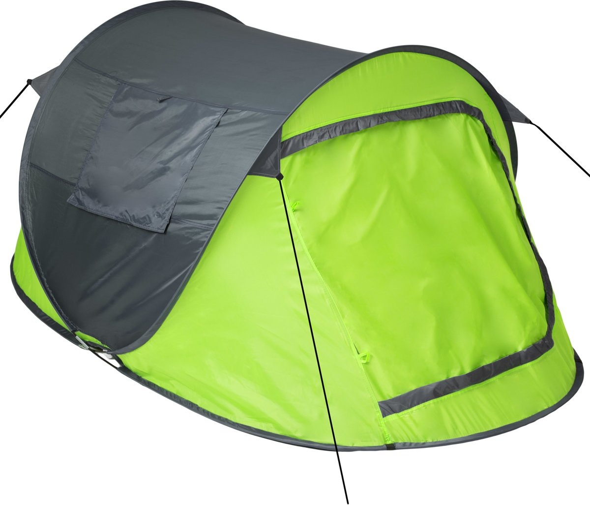 1 Persoons Pop Up Tent Tectake Pop Up Tent Waterdicht Groen Grijs 401675