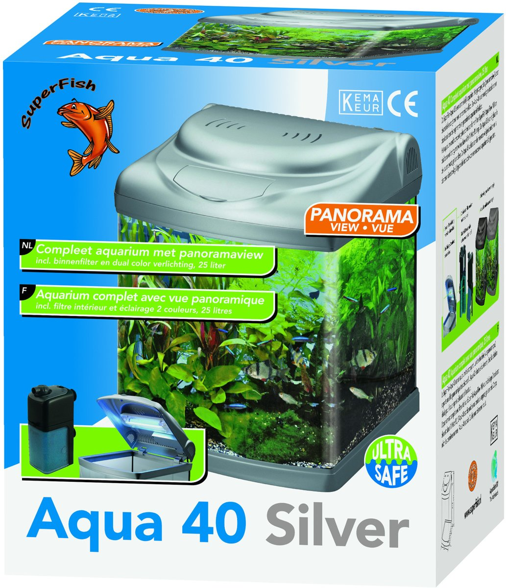 11w Tropical Duo Verlichting Bol Superfish Aquarium Superfish Aquarium Aqua Panorama 40 Zi