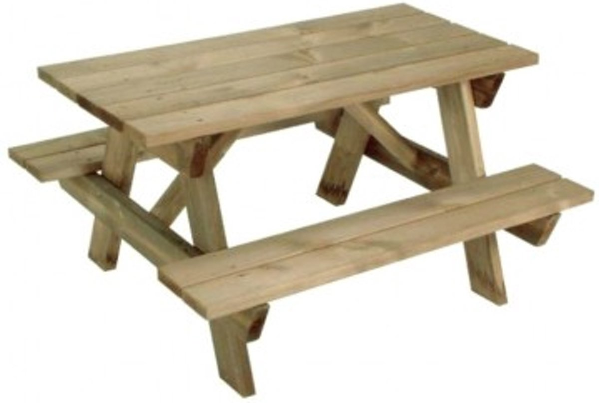 Picknicktafel Kinderen Little Tikes.Picknicktafel Kind 4goodz Houten Kinder Picknicktafel 89 X 80 X 50cm