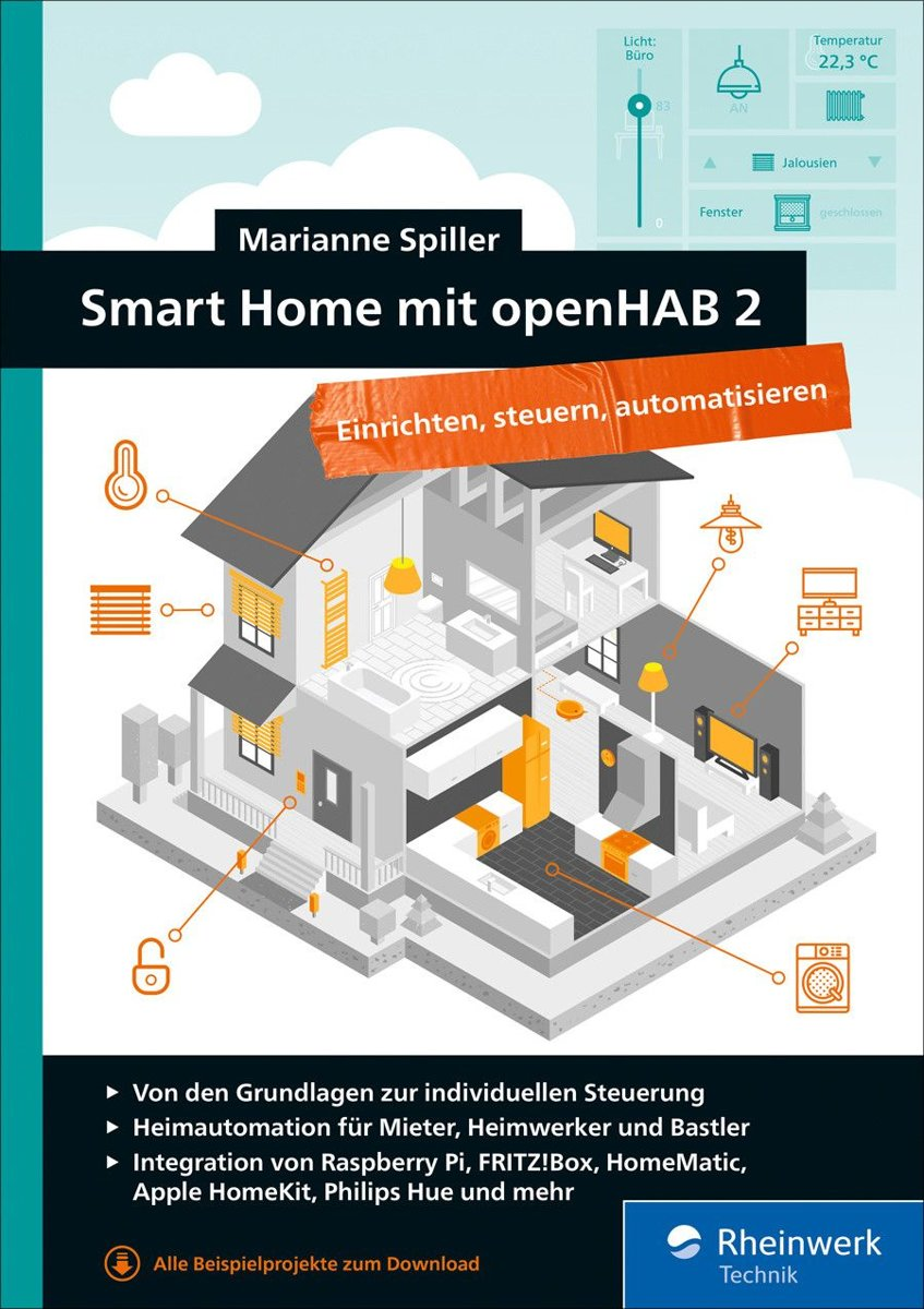 Smart Home Steuerung Bol Smart Home Mit Openhab 2 Ebook Spiller Marianne
