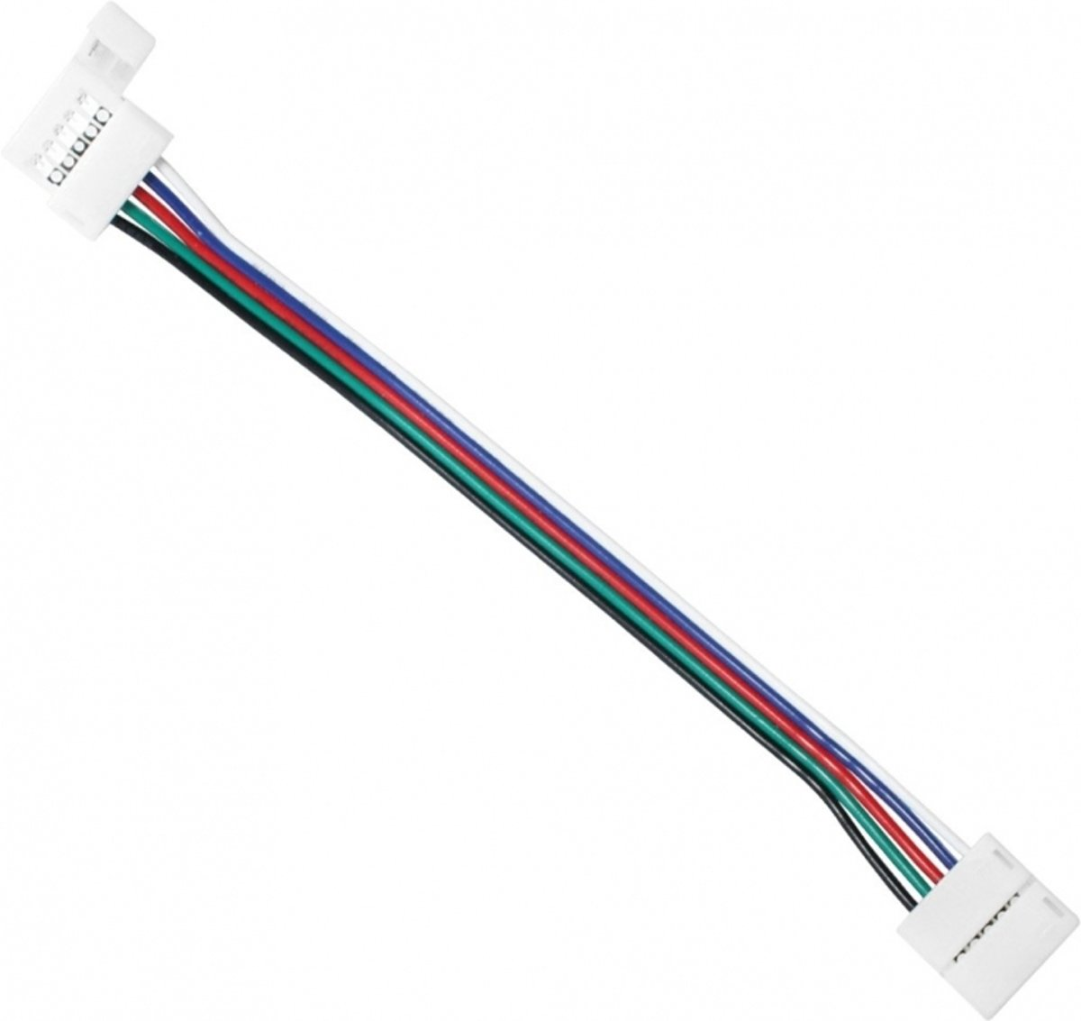 Ledstrips Koppelen Waterproof Ledstrip Connector Cable Click To Click Rgb Outdoor