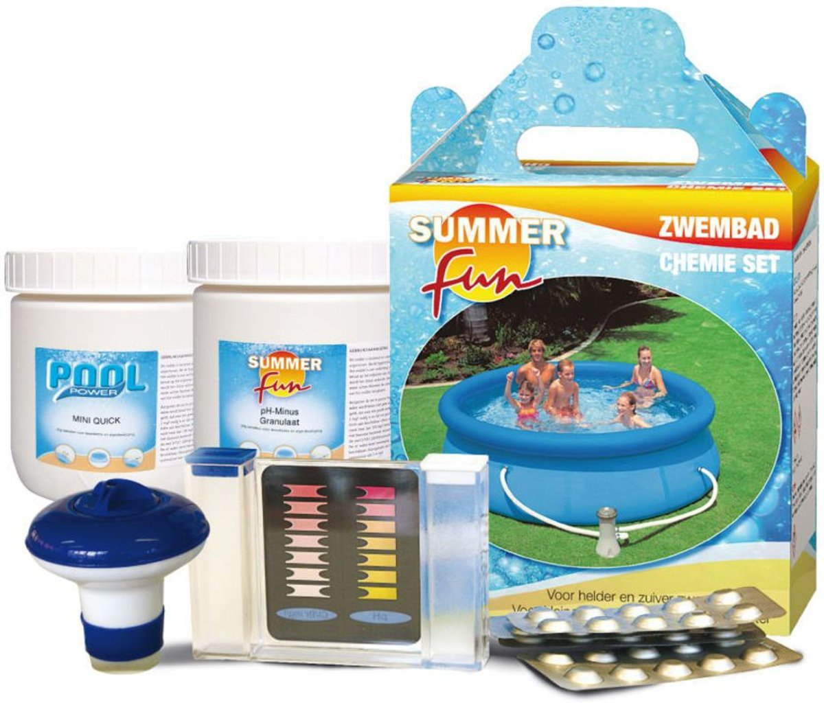 Ph 8.2 Zwembad Startset Chemie Summer Fun