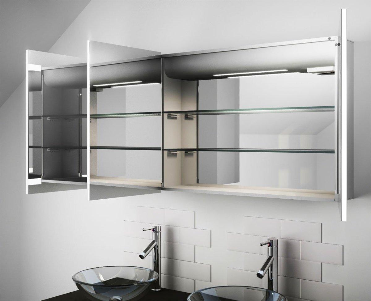 Badkamer Spiegelkast 100cm : Spiegelkast badkamer cm badkamermeubelset dekker klea