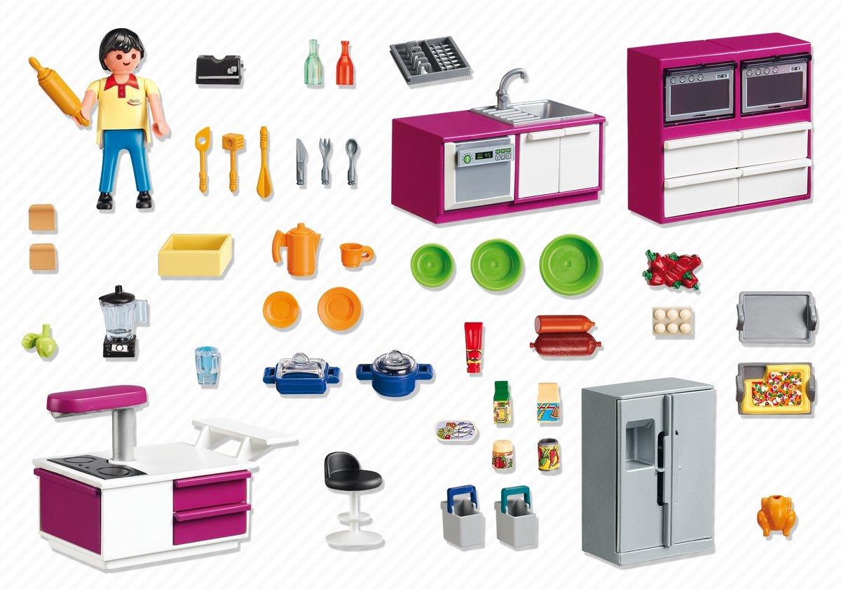 Playmobil Keuken 9269 : Playmobil keuken met kookeiland speelgoed keuken