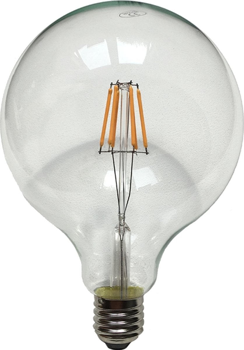 Grote Bollamp Db Led 12 5cm Filament Led Lamp Dimbaar G125 Bollamp 2700k Helder Globe