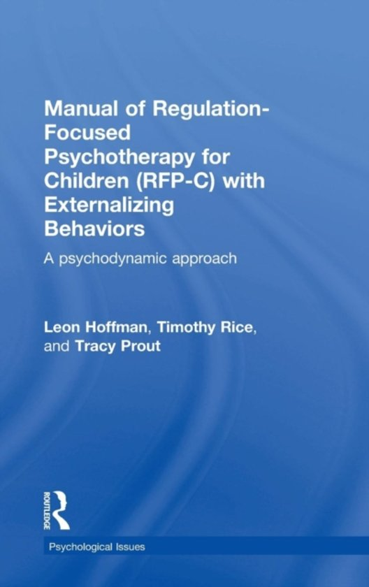 bol Manual of Regulation-Focused Psychotherapy for Children