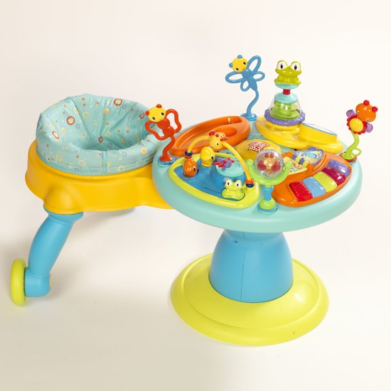 Speeltafel Baby Bol.com | Bright Starts Around We Go Speeltafel - Doodle Bugs