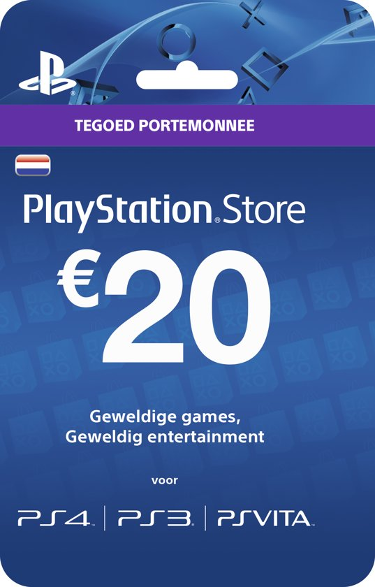 Ps4 Cadeaukaart Bol.com | Nederlands Sony Playstation Network Psn Giftcard
