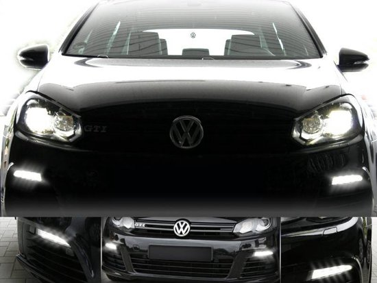 Running Verlichting Bol.com | Led Daytime Running Lights - Verlichting - Vw Golf 6