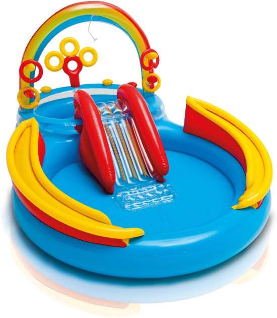 Action Opblaasbaar Zwembad Bol.com | Intex Rainbow Ring Play Center Zwembad