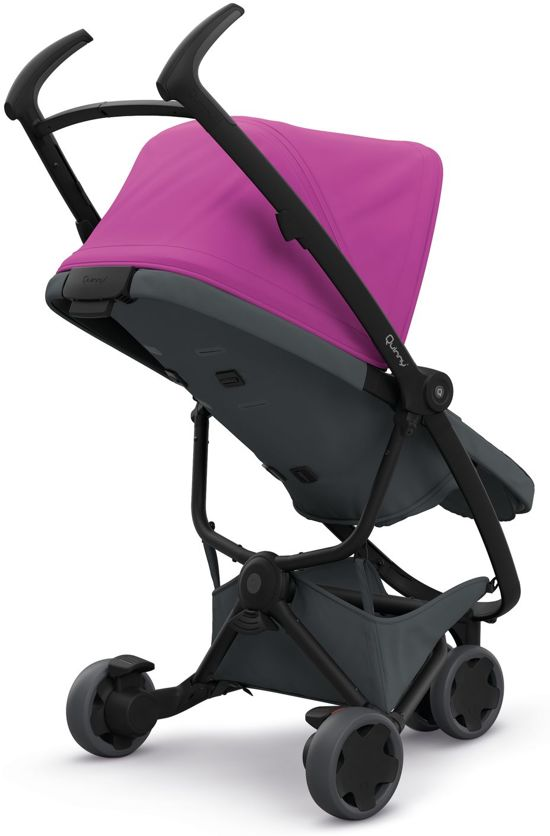 Quinny Zapp Buggy Ligstand Bol Quinny Zapp Flex Buggy Pink On Graphite