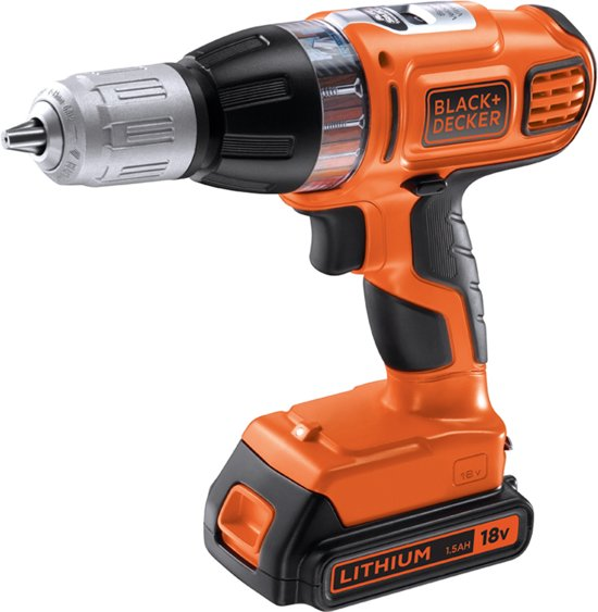 Black En Decker Klopboormachine Bol.com | Black+decker - Asl188kb-qw - Autoselect Accu