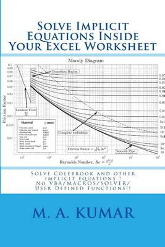 bol Solve Implicit Equations Inside Your Excel Worksheet, M a