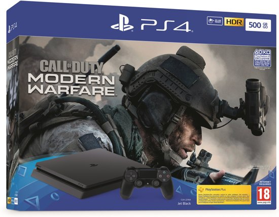 Ps4 Cadeaukaart Bol.com | Playstation 4 500gb + Call Of Duty: Modern
