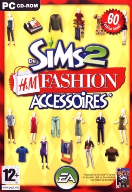 Cadeaukaart H&m Bol.com | The Sims 2: H&m Fashion Accessoires - Windows