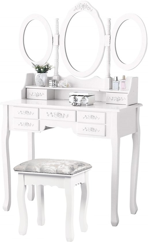 Visagie Tafel Top Honderd | Zoekterm: Make Up Spiegel